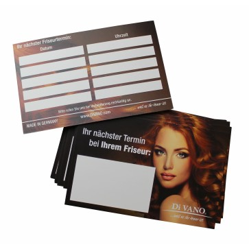 Kunden-Terminkarten Set