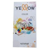 YELLOW Color Farbkarte mini