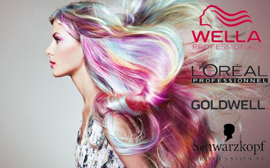 Haarfarben bekannter Marken